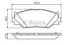 Bosch Remblokset 0 986 494 316
