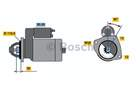 Bosch Starter 0 001 362 102