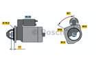 Bosch Starter 0 986 013 270