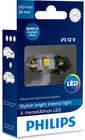 Philips Gloeilamp deurlicht / Gloeilamp instaplicht / Gloeilamp interieurverlichting / Gloeilamp kofferruimteverlichting / Gloeilamp leeslamp / Gloeilamp motorruimteverlichting / Gloeilamp opbergvakverlichting 12859I60X1