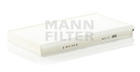 Mann-filter Interieurfilter CU 3139