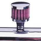 Mijnautoonderdelen Breather Filter 15mm Polished DK BF15