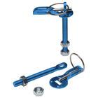 Mijnautoonderdelen Motorkap/Bonnetpins blue alu GS GE52B