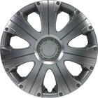 """Mijnautoonderdelen Wieldop Set Racing 14"""" Silver PP 5024"""
