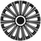 Wieldop Set LeMans 15'' Black/Silve Mijnautoonderdelen pp5135