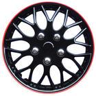 Mijnautoonderdelen Wieldop Set Missouri 14'' Ice Black PP 9704IR