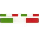 """Quattroerre """"Sticker 3D """"""""Italia Flag"""""""" 3st."""" QR 1687"""