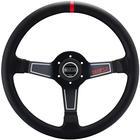 Sparco SteeringWheel L575 Nero Black Leath SP 15L750PL