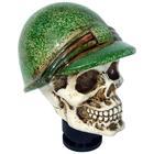 Simoni Racing PK Skull + Green Helmet SR PK56G