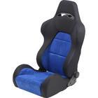 Mijnautoonderdelen Sportseat Eco Soft Black/Blue Chamo SS 40B
