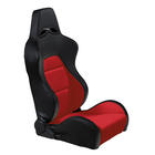 Mijnautoonderdelen Sportseat Eco Black/Red PVC Left SS 40RL