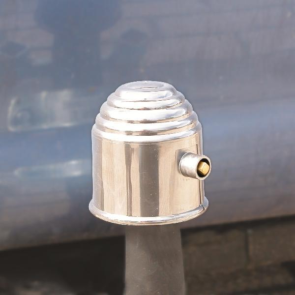 Carpoint Trekhaakdop chroom met slot 10103