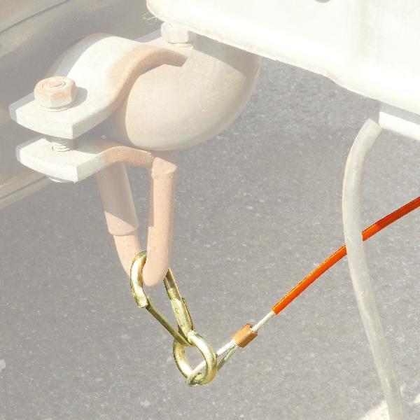 Carpoint Breekkabel voor oplooprem 38104