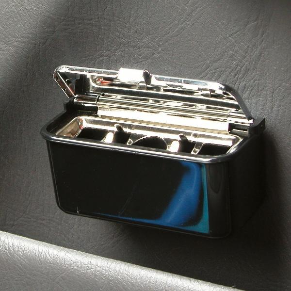 Carpoint Asbak klein zwart 81032