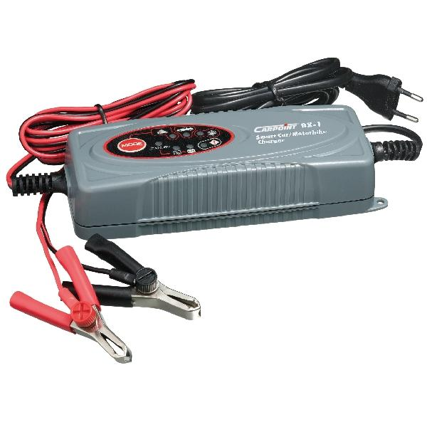Carpoint Acculader auto/motor 3.8/0.8A 12V 35861
