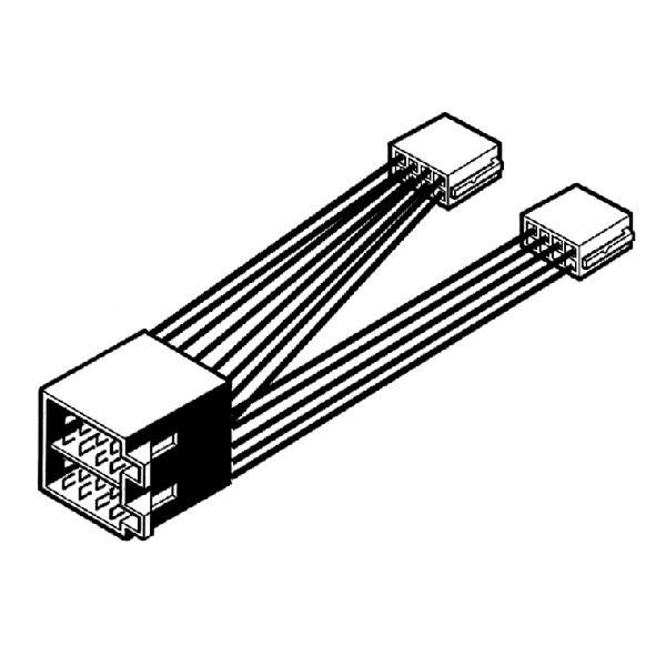 Carpoint Radioverloopstekker universeel 13-aderig 10045