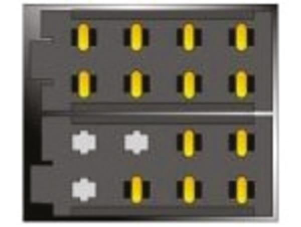 Carpoint Radioverloopstekker RAL female ISO Power & Speaker 10084