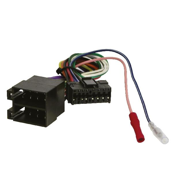 Carpoint Radioverloopstekker Sony 16 pin to ISO 10104