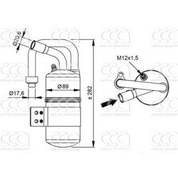 4seasons Airco droger/filter FD34969