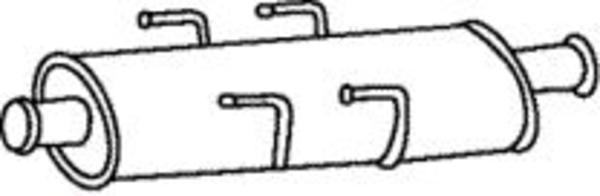 Romax Midden-/einddemper 31 2 037