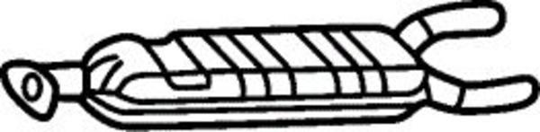 Romax Midden-/einddemper 31 2 043