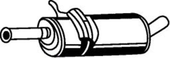 Romax Midden-/einddemper 31 2 051