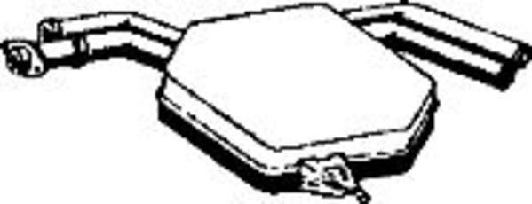 Romax Midden-/einddemper 31 2 233