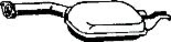 Romax Midden-/einddemper 31 2 257