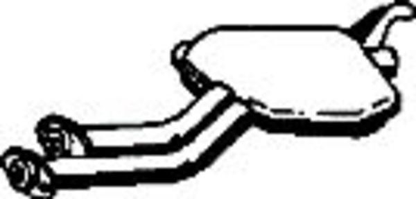 Romax Midden-/einddemper 31 2 276