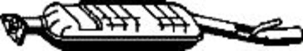 Romax Midden-/einddemper 31 2 325