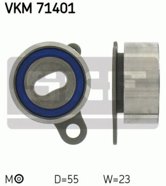 Skf Spanrol distributieriem VKM 71401