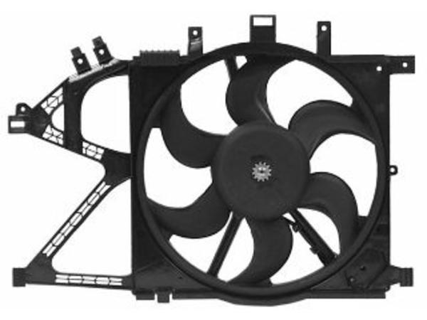 Van Wezel Ventilatormotor-/wiel motorkoeling 3777746
