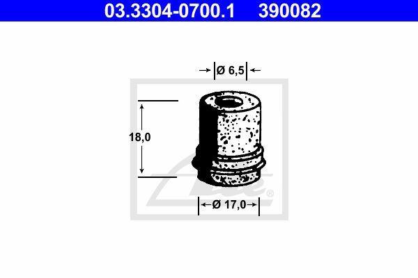 Ate Rem onderdeel (hydr.) 03.3304-0700.1