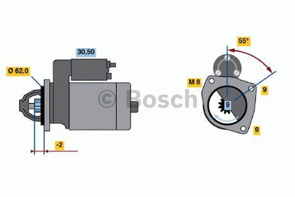 Bosch Starter 0 986 013 850