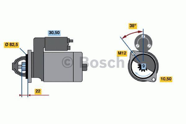 Bosch Starter 0 986 016 280