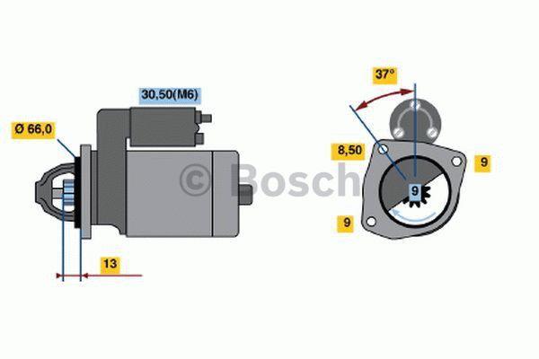 Bosch Starter 0 986 019 930