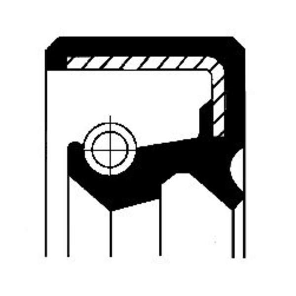 Corteco Aandrijving tachometer afdichtring / Autom.bak keerring 01033982B