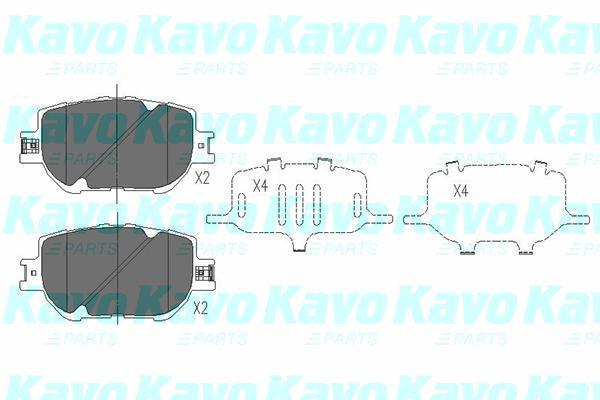 Kavo Parts - KbpRembloksetKBP-9015