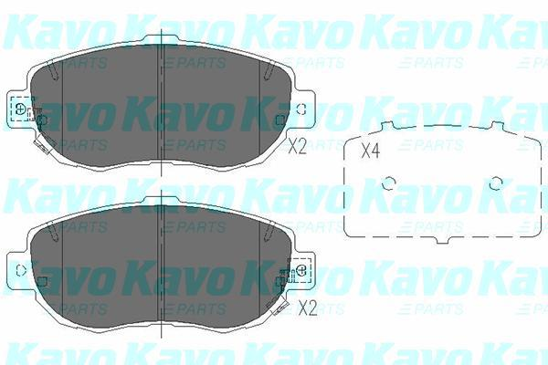 Kavo Parts - KbpRembloksetKBP-9044
