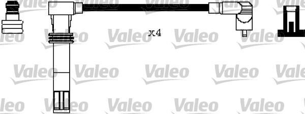 Valeo Bougiekabelset 346240