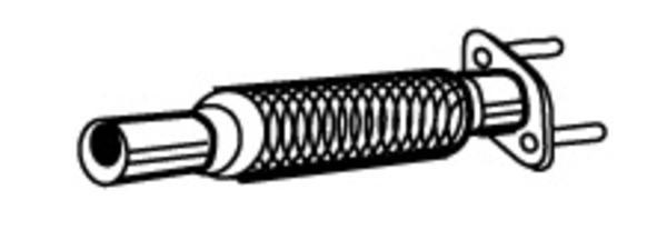 Walker Flexibele slang 02196