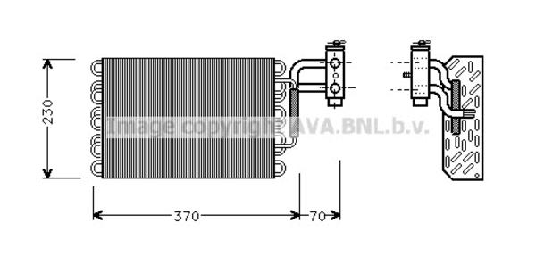Ava Cooling Airco verdamper MSV002