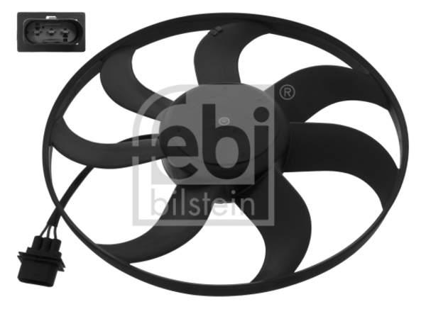 Febi Bilstein Ventilatormotor-/wiel motorkoeling 46565