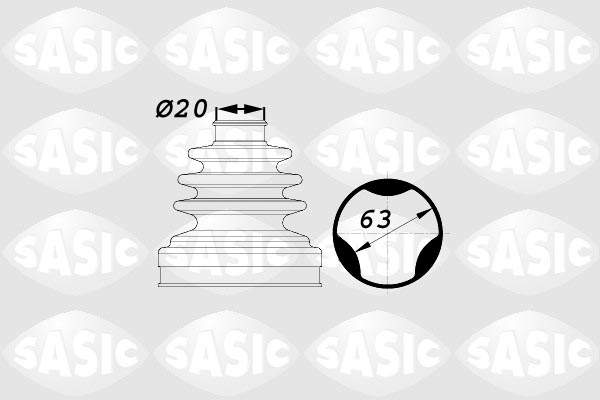 Sasic Aandrijfashoes 1900003
