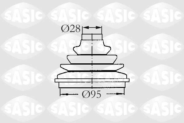 Sasic Aandrijfashoes 2933003