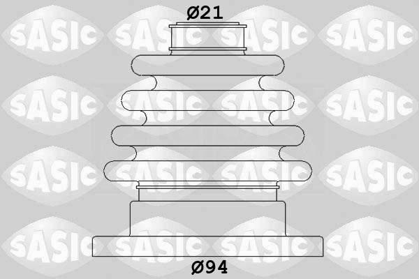 Sasic Aandrijfashoes 4003444