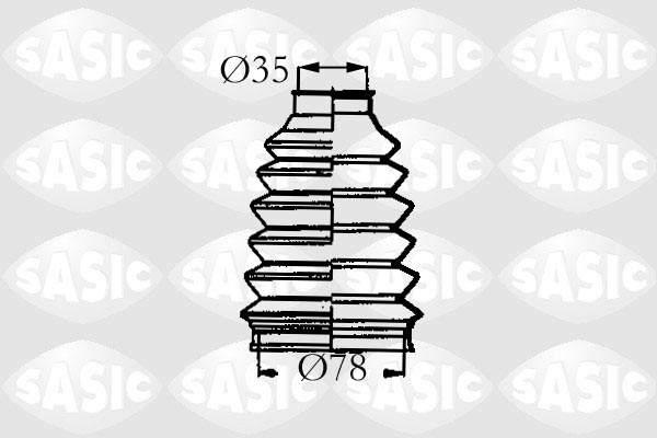 Sasic Aandrijfashoes 4003457