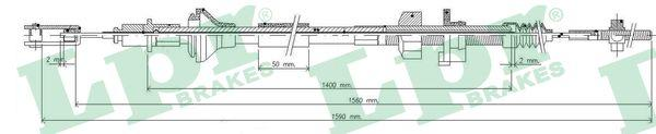 Lpr Koppelingskabel C0034C