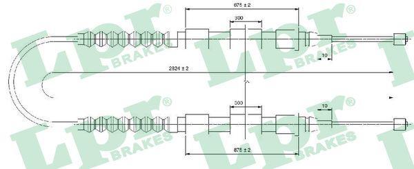 Lpr Handremkabel C0175B