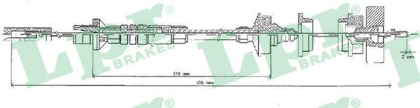 Lpr Koppelingskabel C0219C